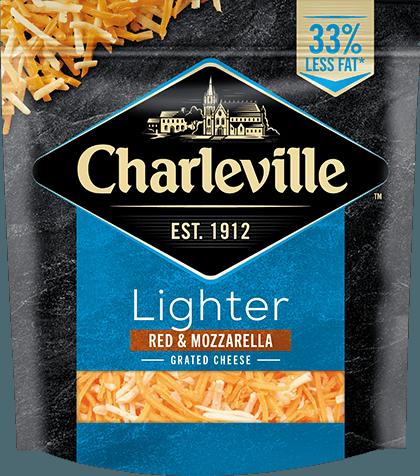 Lighter Red & Mozzarella