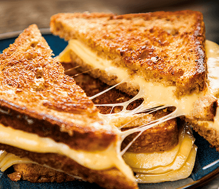 Ultimate Cheese Toastie